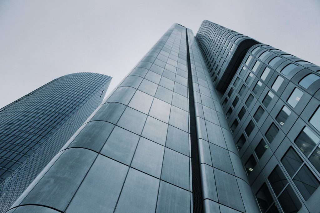 architecture black and white building business